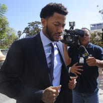 Derrick Rose and two of his friends had been accused of breaking into a woman's Los Angeles apartment and having sex with her when she was incapacitated from a night of drinking.