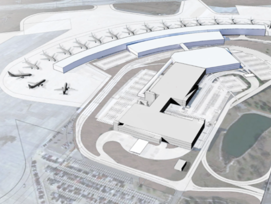 The Des Moines International Airport has proposed building