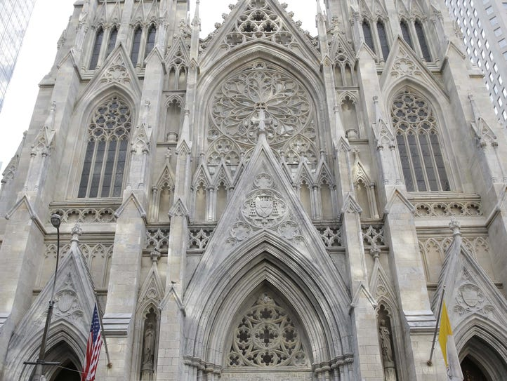 The Archdiocese of New York is in the second phase