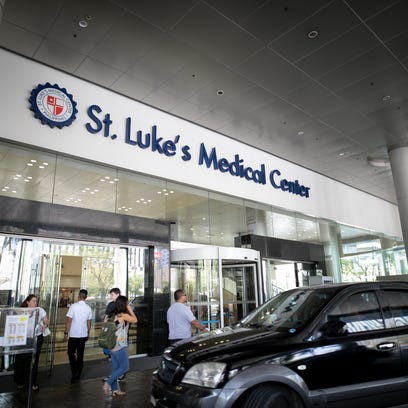 Receiving the executive treatment from St. Luke's Global City