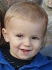Mason Hess, 14 months, died Sept. 1, 2012.