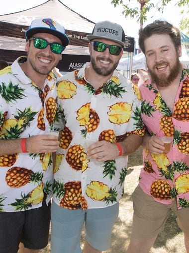 Thousands of beer fanatics enjoyed more than 250 canned craft beers from over 100 local and national breweries across 40 states at Margaret T. Hance Park on Saturday, April 28, 2018.