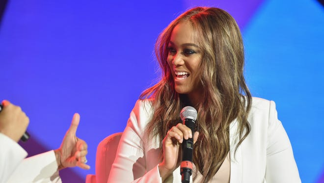 Tyra Banks speaks onstage during the 2016 ESSENCE Festival on July 2, 2016 in New Orleans, La.