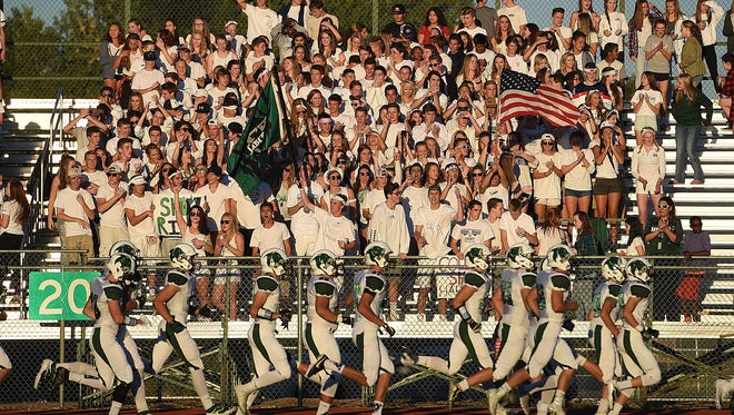 The Fossil Ridge at Rocky Mountain football game at 6 p.m. Thursday will air live at Coloradoan.com.