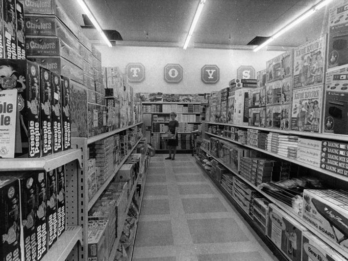 Retro Indy: Our shopping past