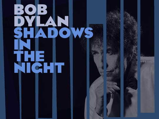 """""""Shadows In The Night,"""" album cover by Bob Dylan."""
