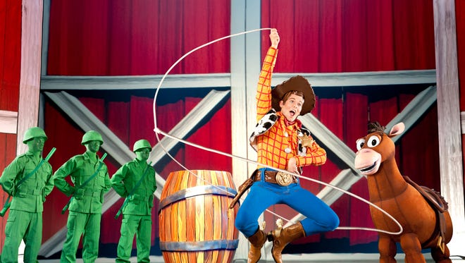 Disney Live! Mickey's Music Festival brings an array of popular Disney character to Salisbury on Nov. 23.
