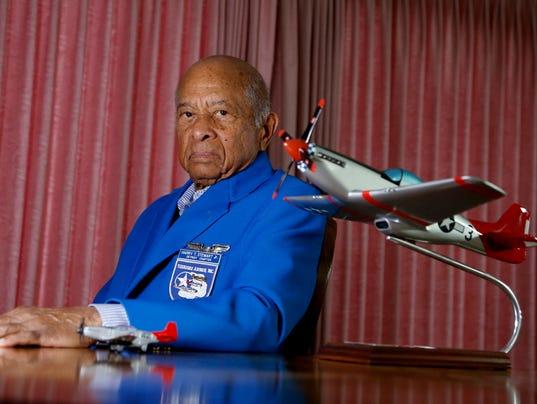 Tuskegee Airman Harry Stewart