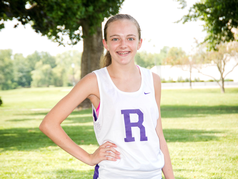 Vincennes Rivet cross country runner Savannah Cook