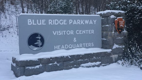 All Blue Ridge Parkway facilities, including the visitor