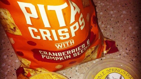 Trader Joe's pumpkin chips