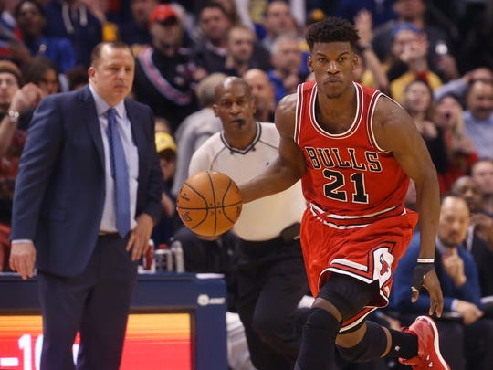 Jimmy Butler has emerged as one of the Eastern Conference's stars this season.