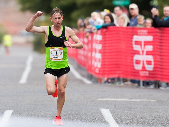 Jonathan Kotter wins the 42nd annual St. George Marathon