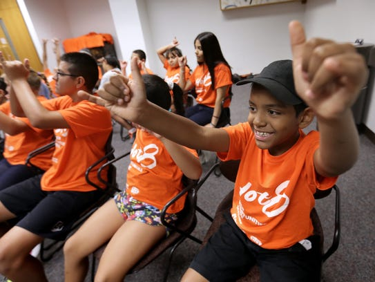 Summer program teaches children about higher education