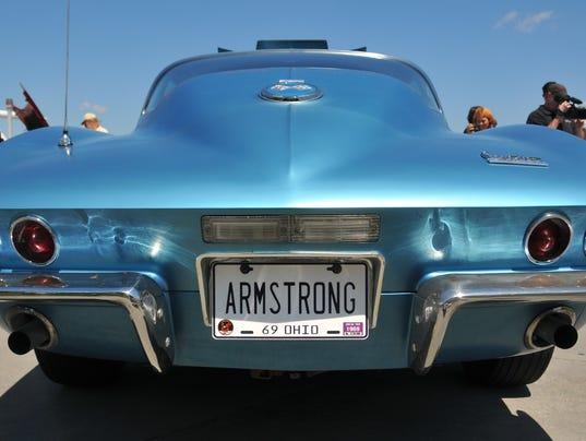 Neil Armstrong's Corvette 9