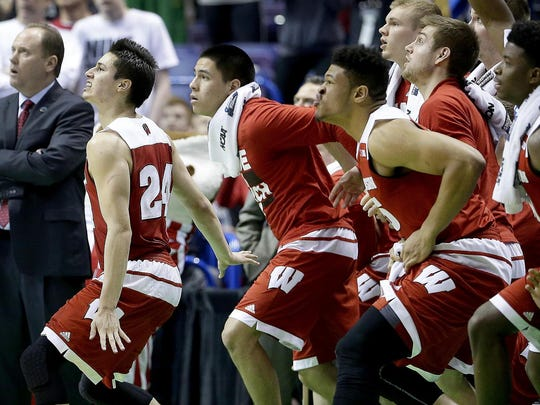 All eyes were on Bronson Koenig's winning three-pointer at the buzzer against Xavier.