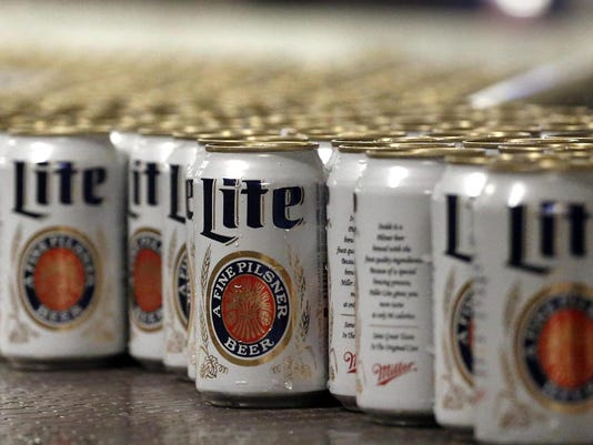 Miller Lite overtakes Budweiser as third-best selling beer