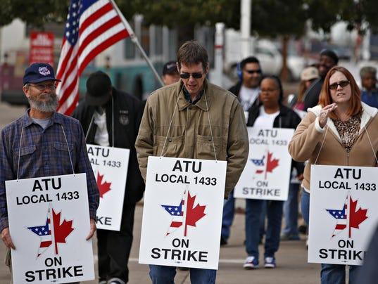 Phoenix bus strike