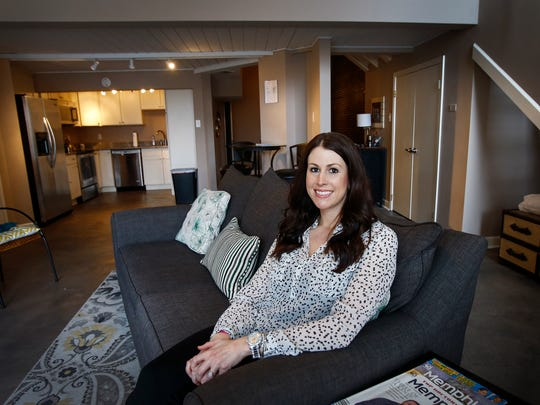 Stephanie Cobb owns two apartment rentals on South