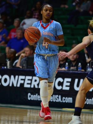 Louisiana Tech freshman Kierra Anthony is one of several young returners for the Lady Techsters in 2017.