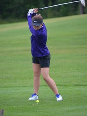 Haley Lesiow returns to anchor the Lakeview girls golf