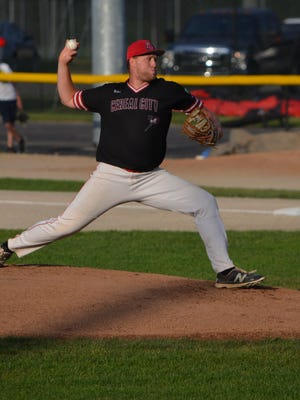 Battle Creek starting pitcher Max Swan went six innings and kept the Bombers in the game by scattering seven hits and giving up just two runs.