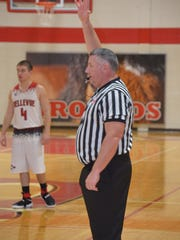 Jim Grafton has been a police officer for 24 years and has worked as a basketball referee for 11.