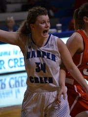 Harper Creek senior Megan Hicks enjoys playing for