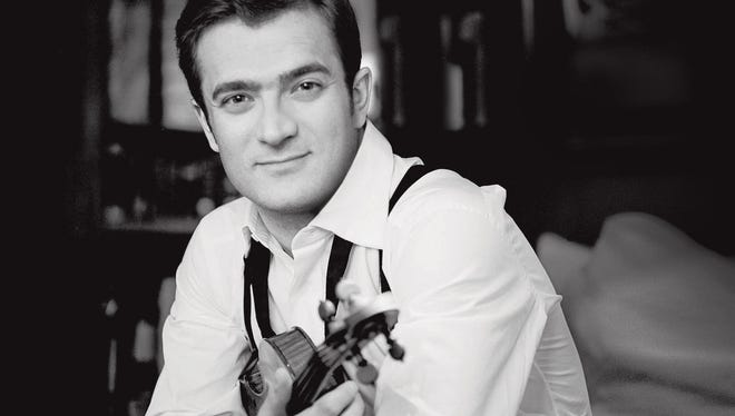 """Violinist Renaud Capuçon made his debut in Bruch and Massenet's """"Meditation."""""""