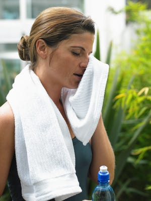 Proper hydration before, during and after exercise is essential for core temperature regulation.
