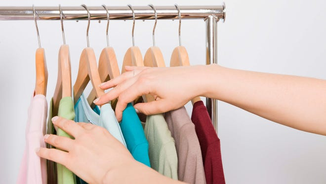 To cut down on overpacking, choose a color theme for your outfits.