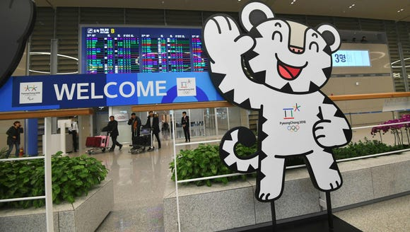 The mascot of the 2018 PyeongChang Winter Olympics