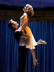 """A scene from the musical version of """"Dirty Dancing"""""""