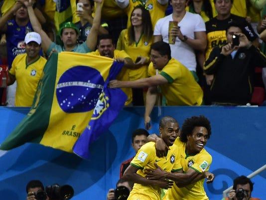 World Cup 2014 Brazil vs. Cameroon