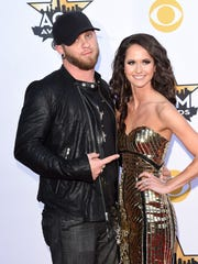 Brantley Gilbert and Amber Cochran were married last June, just two weeks after his Lambeau Field show.