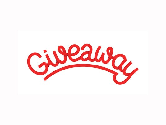 Giveaway lettering