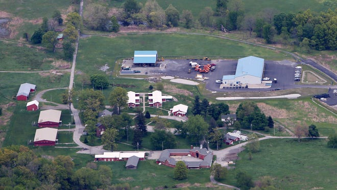 The Beacon Correctional Facility near Interstate 84 in Beacon May 9, 2017.