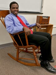 "Ken-Matt Martin is the driving force behind the new Pyramid Theatre Co., which plans to produce African-American plays in Des Moines. The rocking chair and old-time radio were props in his 2014 production of the 1950s-era drama ""Fences,"" by August Wilson."