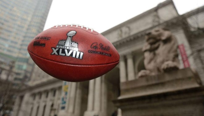 New York State is spending $5 million in advertising for the Super Bowl, which could undermine efforts to turn a substantial profit.