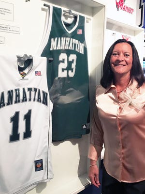 Former Collingswood High School and Manhattan College star Donna Seybold got inducted into the Metrol Atlantic Athletic Conference's Honor Roll last Saturday, which was commemorated at the Basketball Hall of Fame in Massachusetts.