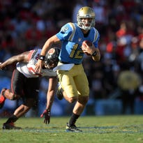 UCLA's offensive overhaul yields 45 points, but another loss