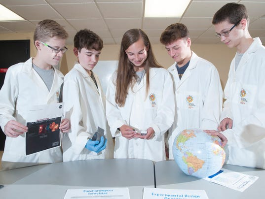 SJ Boy Scouts submit winning experiment in NASA project