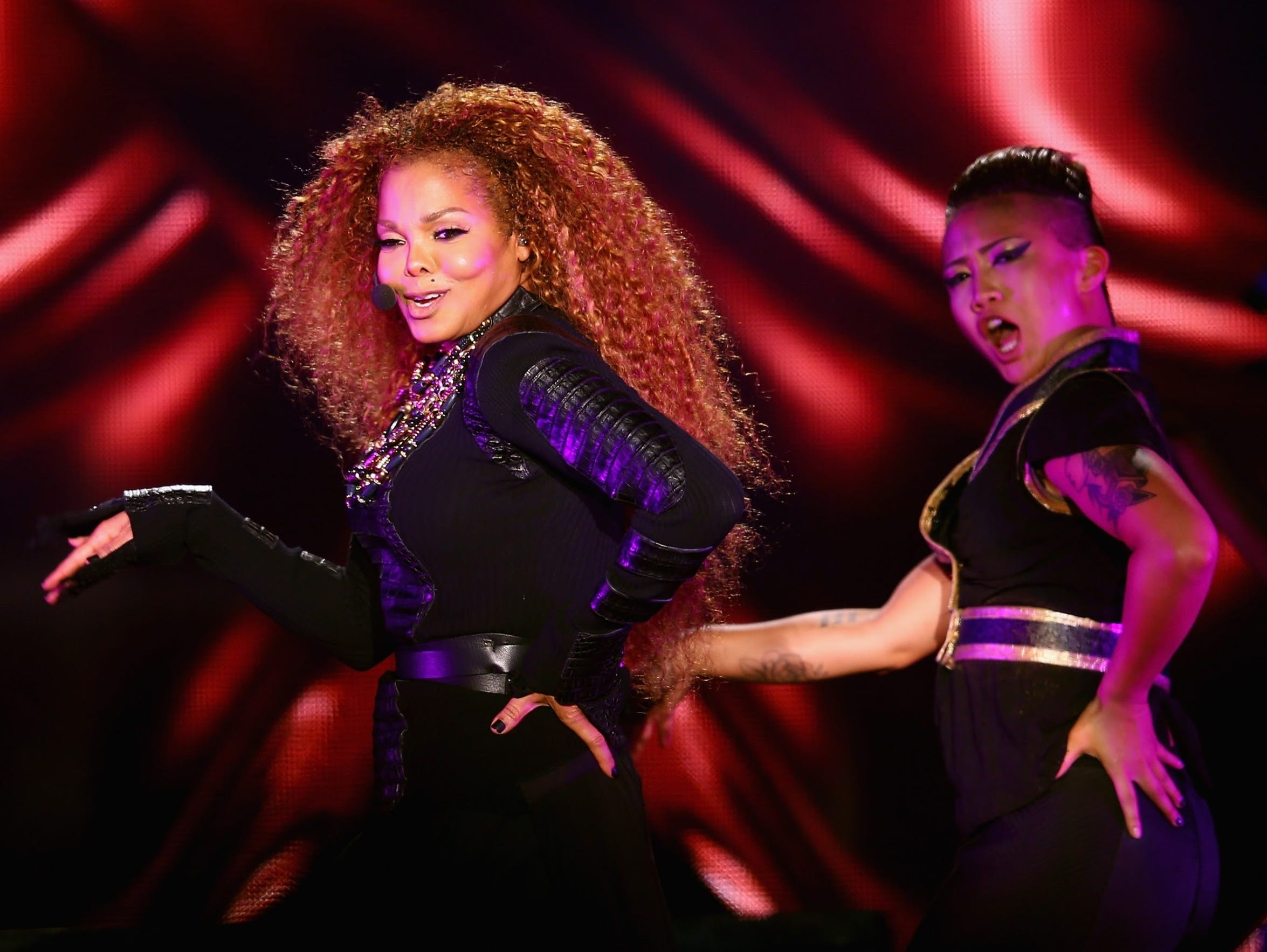 "Janet Jackson recorded hit singles ""Nasty,"" ""When I"