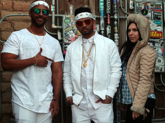 G-Walk, Shawn Don and Kate London before performing
