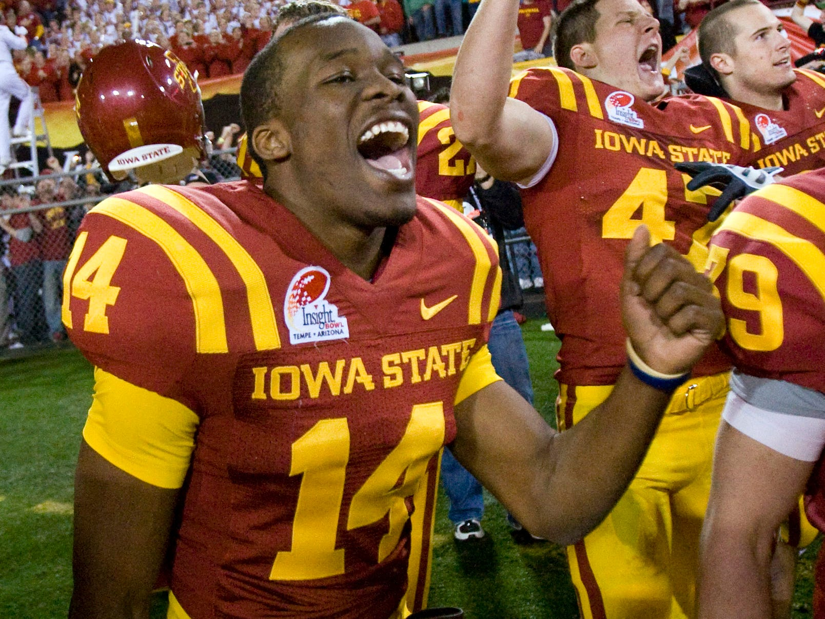 Bayside High grad Deon Broomfield played for Iowa State before landing on the Buffalo Bills' practice squad.