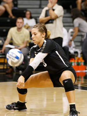 Senior Brooke Peters has led the defense for 21-4 Purdue.