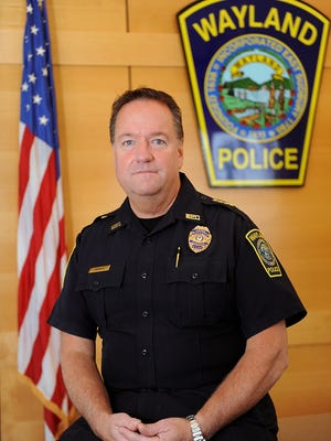 Wayland Police Chief Patrick Swanick is retiring after 30 years in the department.