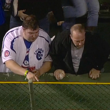A fan lost his ring after catching a home run ball.