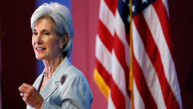 Kathleen Sebelius is secretary of the Department of Health and Human Services.