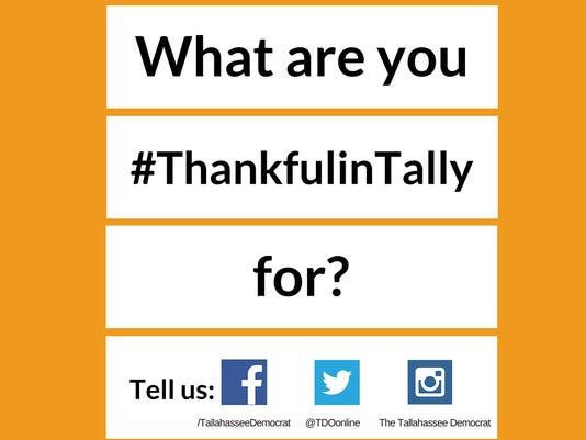 #ThankfulinTally